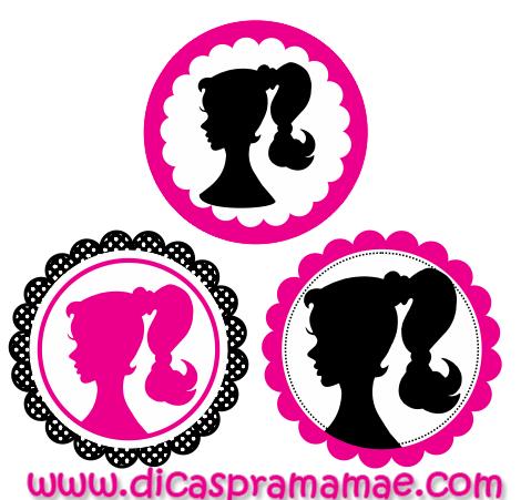 Kit Personalizado Da Barbie Tags Para Imprimir Dicas Pra Mamae
