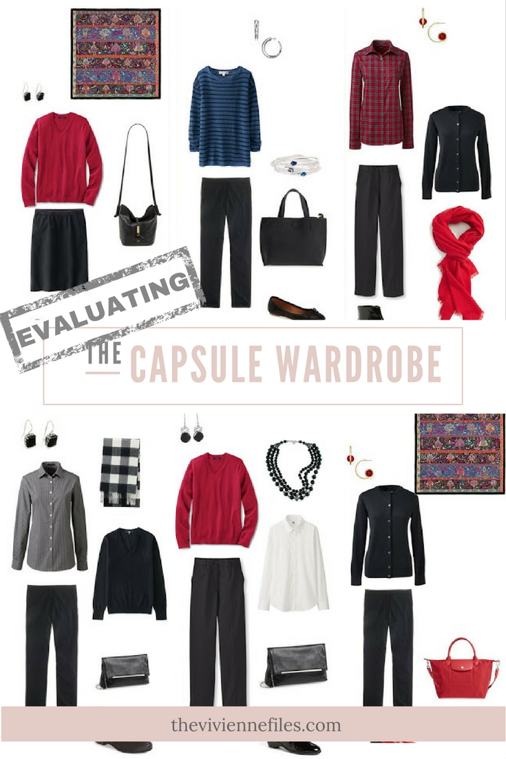 Capsule Wardrobe: 12 Months, 12 Outfits In A A Black-Based Capsule Wardrobe