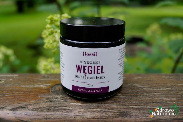 Iossi - Węgiel - Oczyszczająca pasta do mycia twarzy