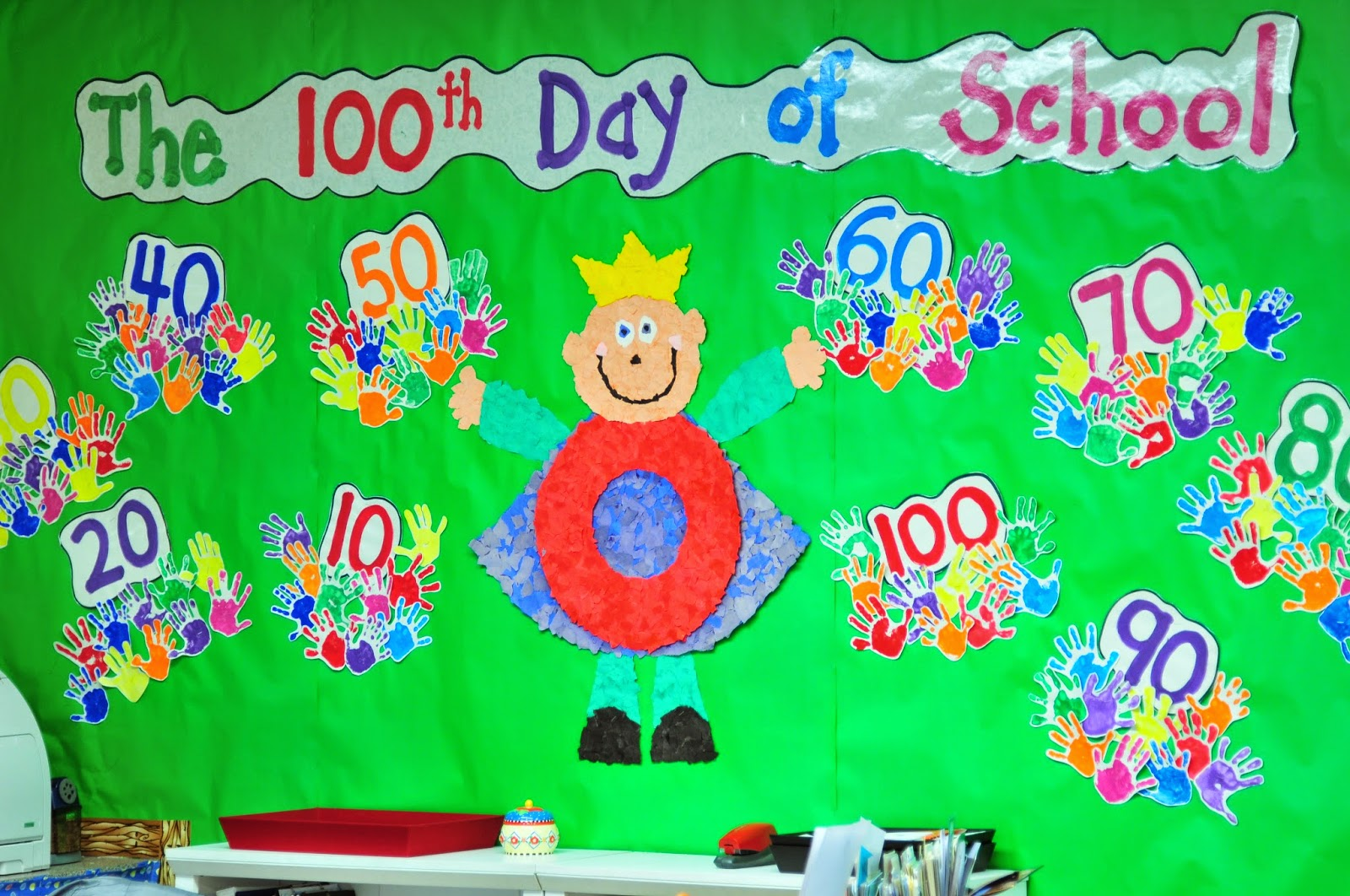 Kindergarten With Susie The 100th Day Of School Celebration