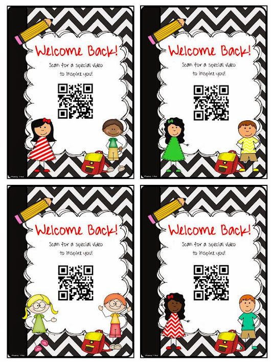 Kid President Back To School QR