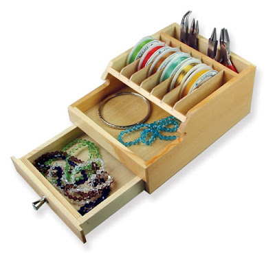 Shop Nile Corp Wooden Organizer with Drawers