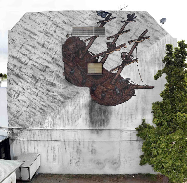Former BMD member, DSIDE just sent us some images from his latest piece of work which just spawned on the streets of Taupo in New Zealand.