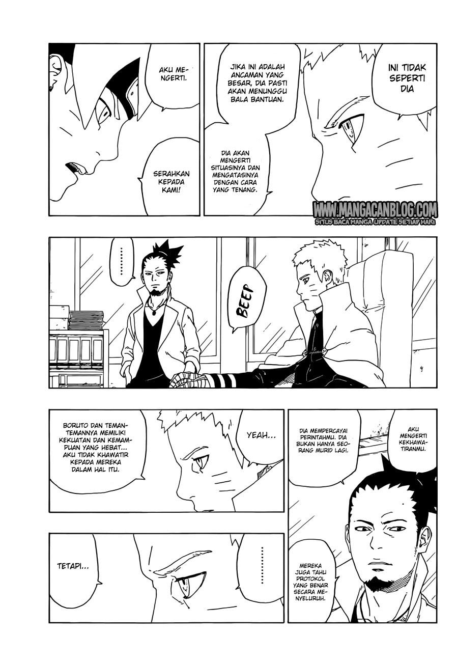 Baca Manga Boruto Chapter 18 Bahasa Indonesia
