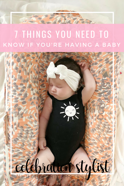 7 Things You Need if You're Having a Baby by The Celebration Stylist