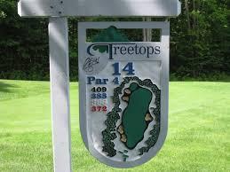 mapa campo de golfe
