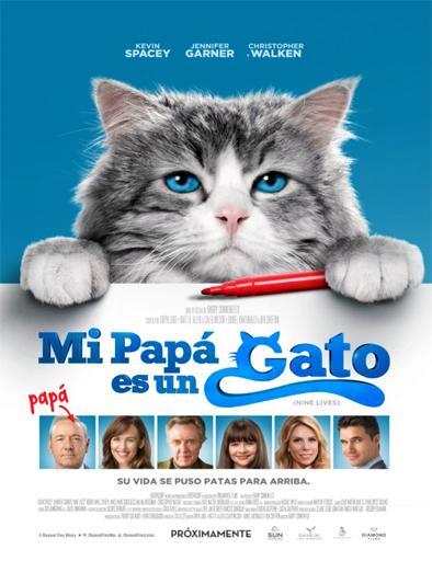 Ver Mi papá es un gato (Nine Lives) (2016) Online