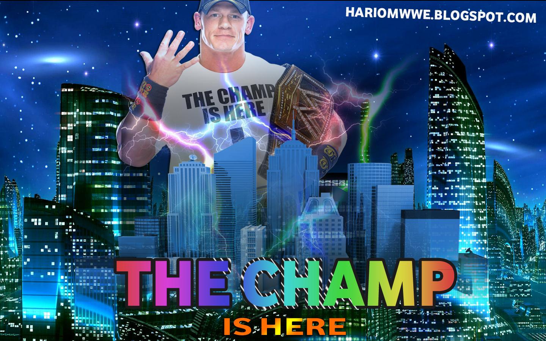 Wallpaper » John Cena 2013 Wallpaper ''The Champ Is Here ...  Wallpaper » Jo...