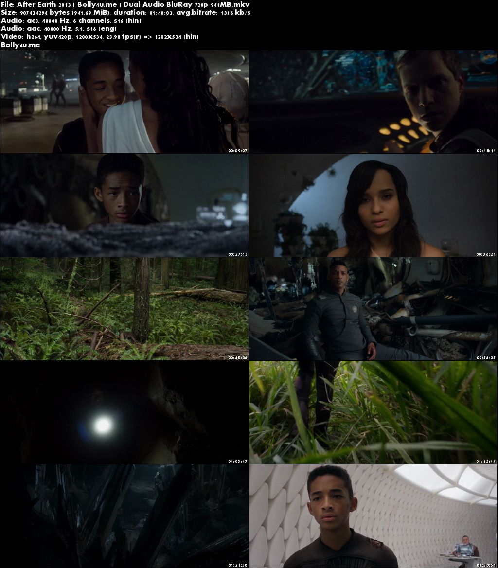 After Earth 2013 BluRay 300MB Hindi Dual Audio 480p Download