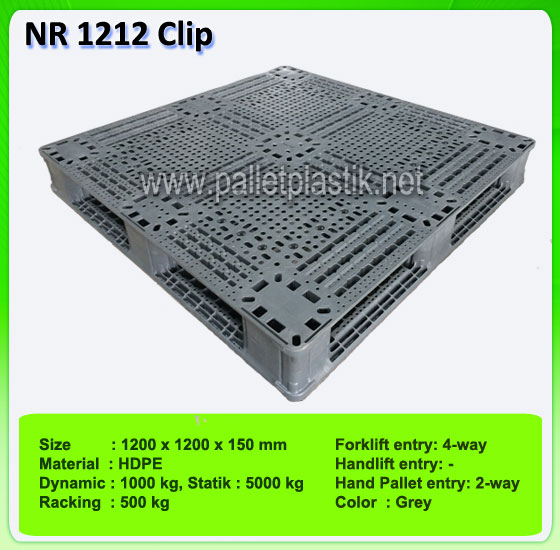 Pallet Plastik NR 1212 Clip