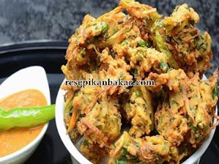 Resep bakwan sayur crispy