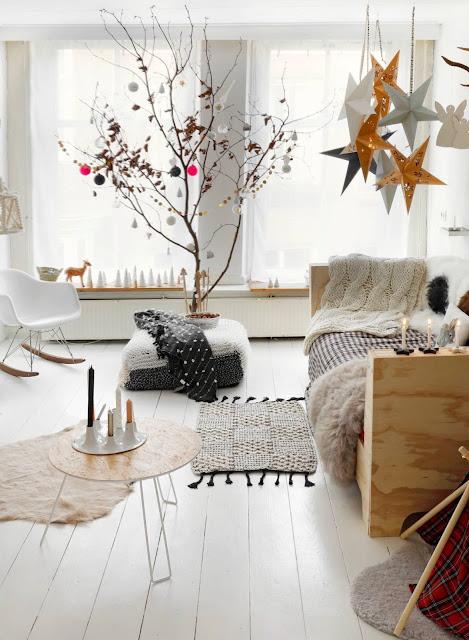Calore natalizio in una casa olandese