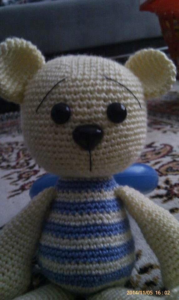 Amigurumi) Masum Ayıcık Tulum Örme - Teddy Bear 4/4 - YouTube ... | 960x574