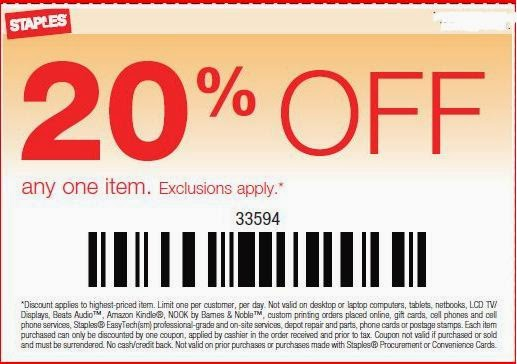 Staples coupon 30 off 150 online code