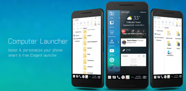 Download Computer Launcher Pro Apk