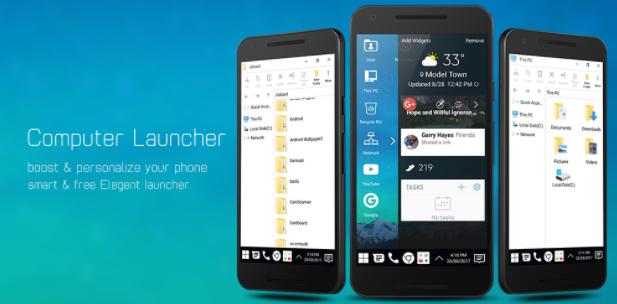 Download Computer Launcher Pro v10.9 Apk (Tanpa Iklan)