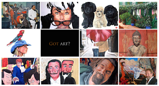 Got Art? by Boulder portrait artist Tom Roderick