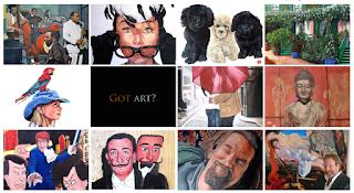 Got Art? by Boulder portrait artist Tom Roderick