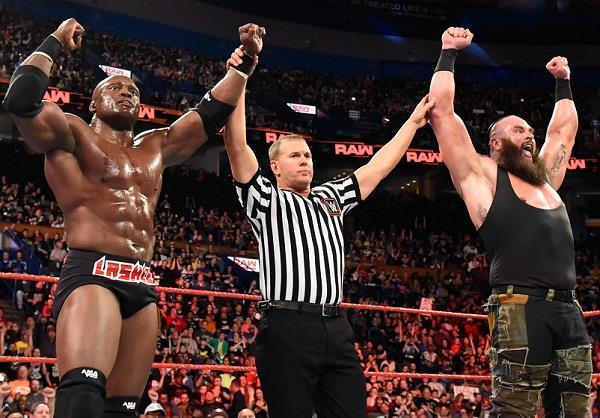 Storman and Lashley can challenge Matt Hardy and Bray Wyatt for the RA tag team championship