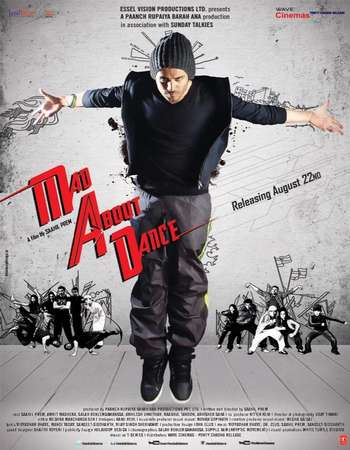 Poster Of M.A.D: Mad About Dance 2014 Hindi 720p HDRip Free Download Watch Online