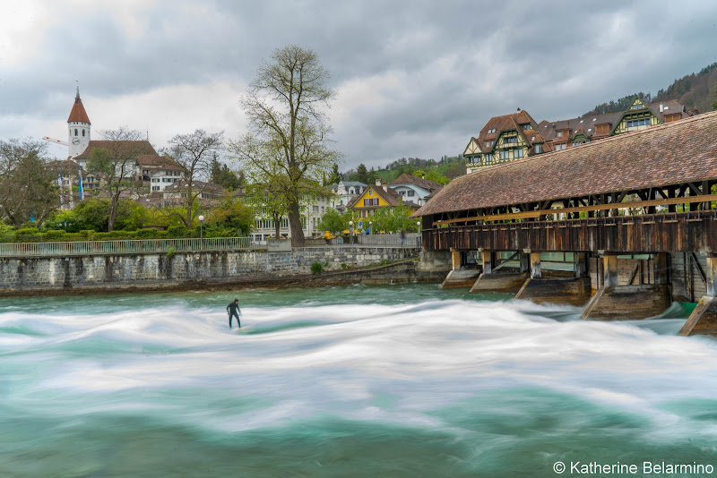 Thun River Surfing Four Days in Interlaken and the Swiss Alps
