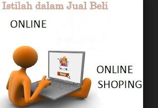 istilah dalam jual beli online