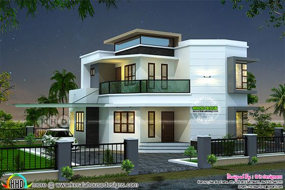 3 bedroom modern house plan