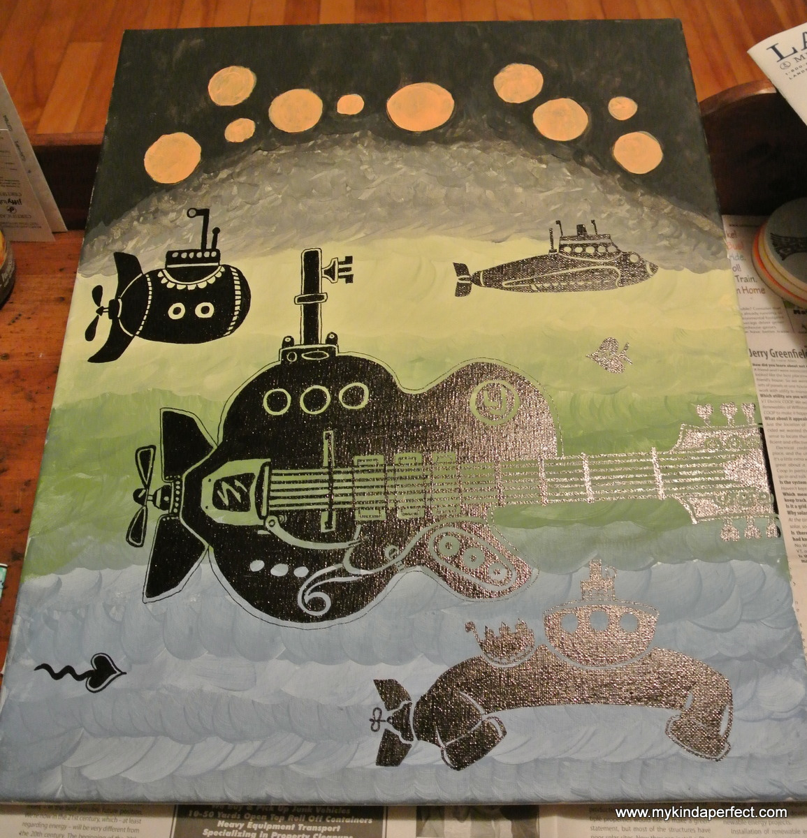 my kinda perfect: art inspired by music