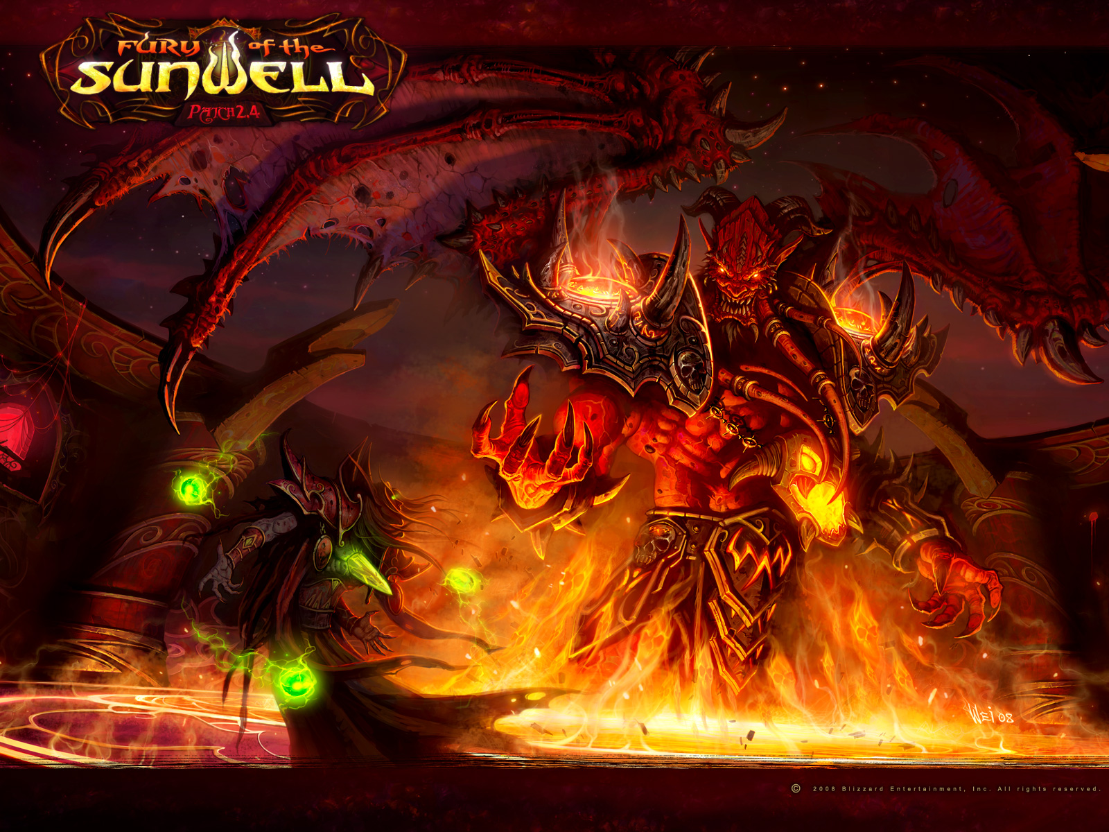 Wallpaper Backgrounds: World Warcraft