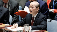 China's permanent representative at the UN Liu Jieyi. (Photo Credit: UN/Flickr) Click to Enlarge.