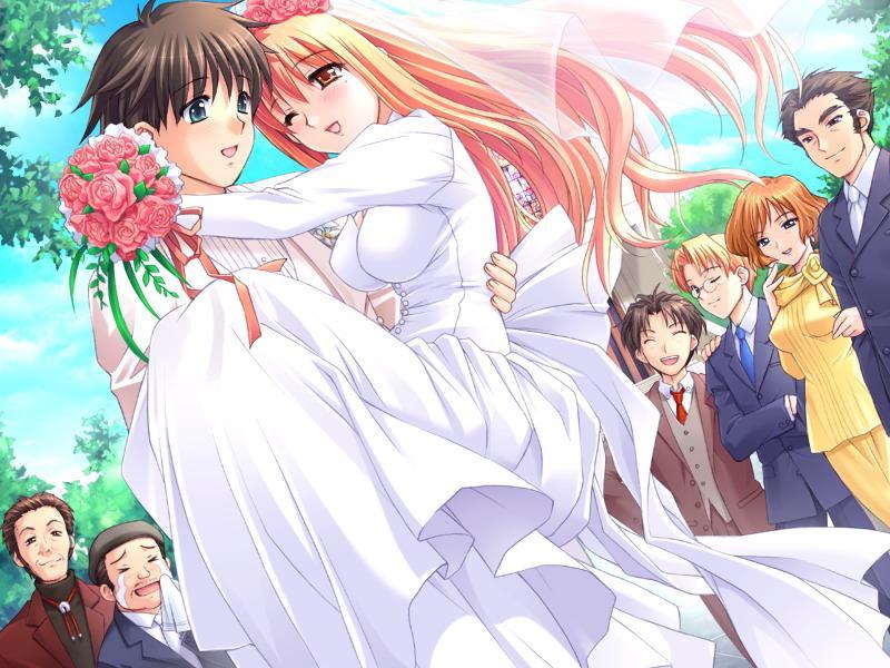 Anime Hochzeit