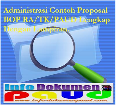 Administrasi Contoh Proposal BOP RA Lengkap Dengan Lampiran - Info-dokumenpaud.com