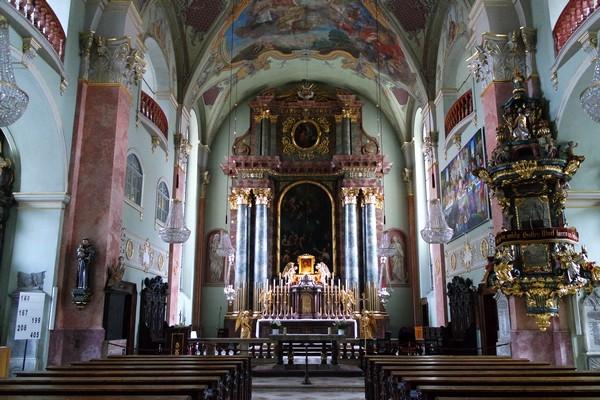 autriche klagenfurt carinthie église st. egid kirche