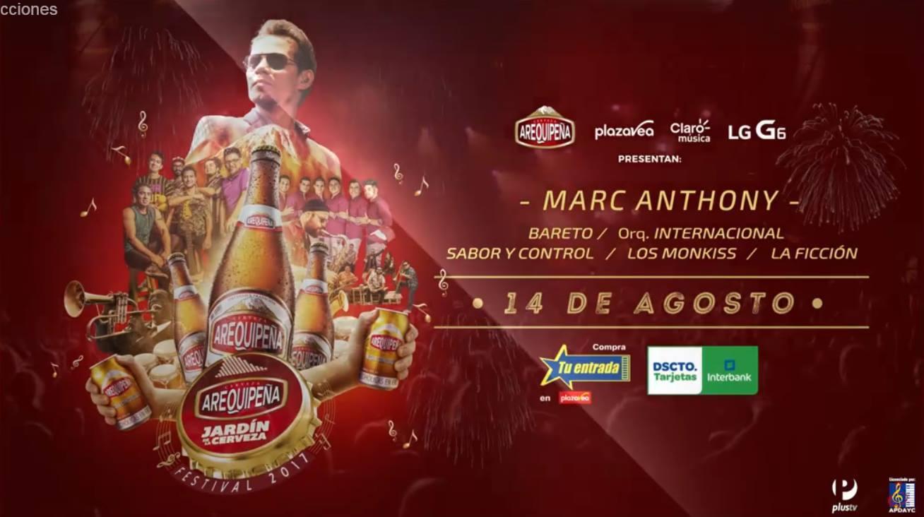 Jard n de la cerveza arequipe a 2017 revista q planes for Jardines de sabatini conciertos 2017