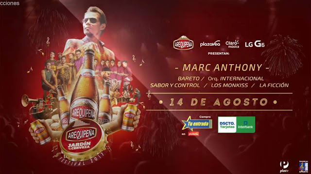Marc Anthony en Arequipa