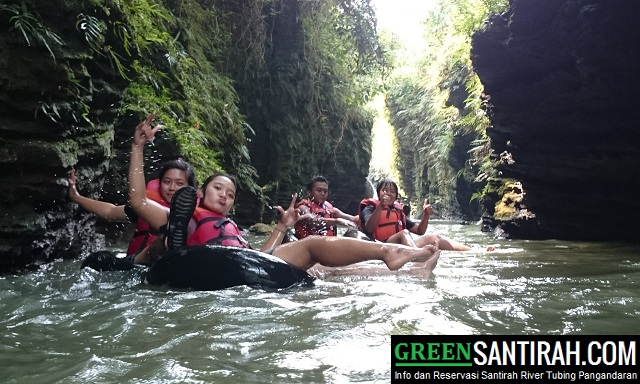 Paket Reguler Santirah River Tubing