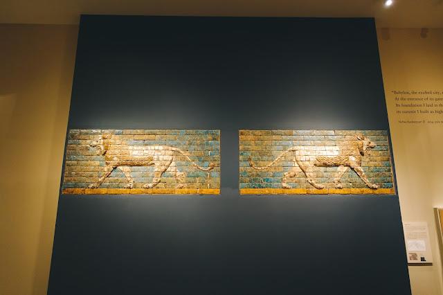 ライオンのレリーフ(Panel with striding lion)
