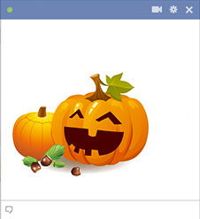 Jack-O-Lantern Pumpkins for Facebook