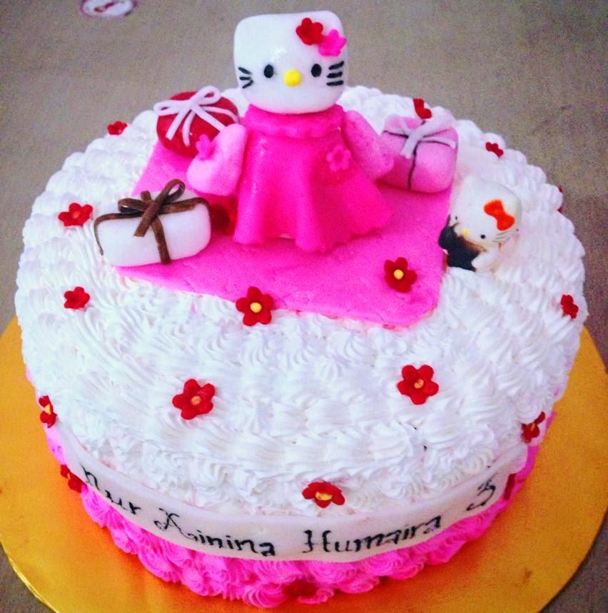 Ninie Cakes House Hello Kitty Theme Birthday Cake