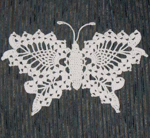 Delicate Crochet Butterfly - Free Pattern