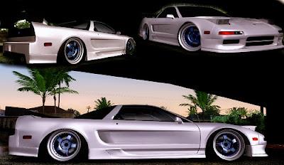 Mod Acura NSX Drift