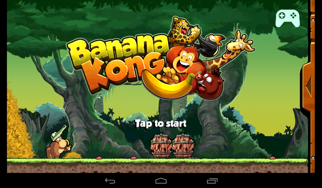 Review Game Android Banana Kong
