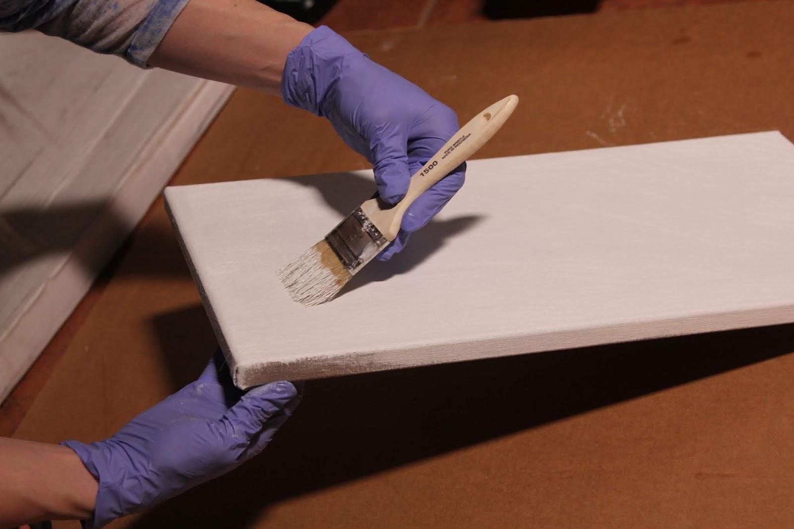 Anna Rose Bain's Art Blog: Preparing a Linen Canvas: How To