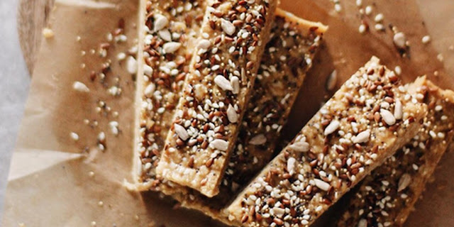 Peanut Butter Trail Mix Protein Bars