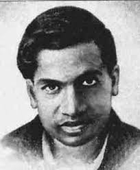 Shri Niwas Ramanujam was born on Dec. 22, 1887 in Erode, Tamilnadu. At the age of 13 he was able to get Lony's trigonometry from the college library. Not only did he mastered this difficult book but also began his own research. Ramanujam secured a first class in mathematics in matriculation and was awarded Subramanyam Scholarship, but he failed twice in his first year examination in college, as he neglected other subjects. Although did not have qualifying degree, yet was elected a Fellow of Royal Society and Fellow of Trinity College, Cambridge. He worked with great mathematicians. G.H. Hardy and J.E. Little Wood at Cambridge.