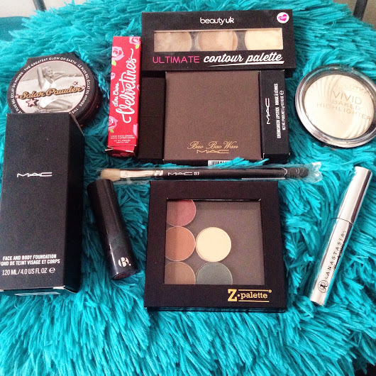 A Ridiculously Large Makeup Haul