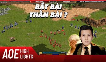 AoE Highlight | Trận đấu xoay quân chuyển bài mẫu mực của Chim Sẻ Đi Nắng