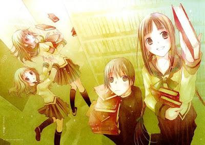 Download Anime Bungaku Shoujo Kyou no Oyatsu Hatsukoi BD Subtitle Indonesia