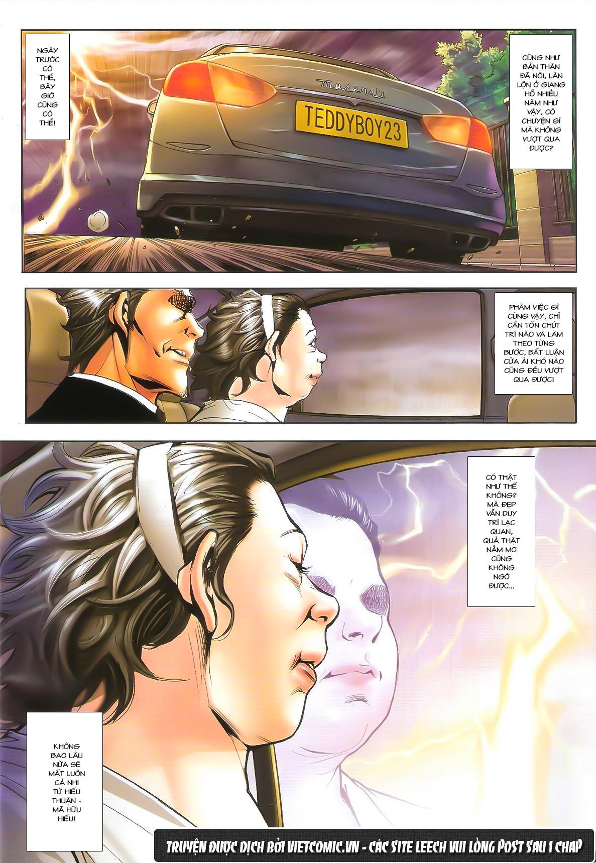 Người Trong Giang Hồ chapter 1611: đại hạn của tưởng thiên sinh trang 22
