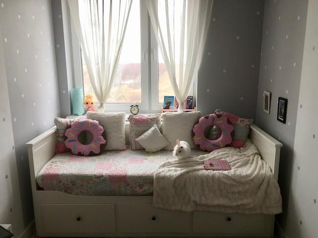Łóżko Hemnes w pokoju dziecięcym